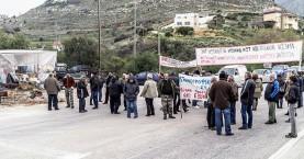Στην Αθήνα την Τρίτη και οι αγρότες απο το μπλόκο στα Χανιά