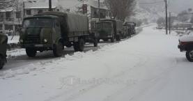 Στον φρέσκο - χιονισμένο Ομαλό οι καταδρομείς της 1ης ΜΑΛ (φωτο)