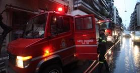 Στο πόδι για μια κουζίνα και ένα αυτοκίνητο η πυροσβεστική στο Ηράκλειο