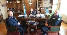 Την Μ.Λιονή επισκέφτηκε σήμερα ο Γενικός Αστυνομικός Διευθυντής Κρήτης