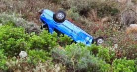 Βουτιά ΙΧ σε γκρεμό στο Ηράκλειο - Νεκρός ο οδηγός