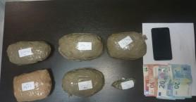 Σε δύσβατη αγροτική περιοχή στα Χανιά έκρυβαν πάνω από 700 γρ. χασίς