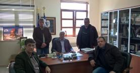 Τον δήμαρχο Αποκόρωνα επισκέφθηκαν μέλη της Ν.Ε. ΚΙΔΗΣΟ Χανίων