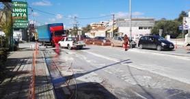 Οι κυκλοφοριακές αλλαγές στον Κλαδισό λόγω ασφαλτόστρωσης