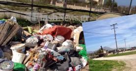 Παιδιά παίζουν δίπλα στα σκουπίδια! - Σε απόγνωση κάτοικοι του Ακρωτηρίου
