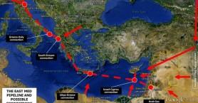 Προωθείται ο αγωγός φυσικού αερίου EastMed που περνά από Κρήτη