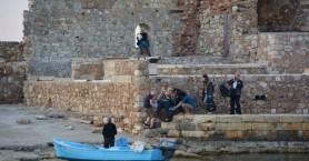 Τουρίστρια τραυματίστηκε στο ενετικό λιμάνι στα Χανιά (φωτο)