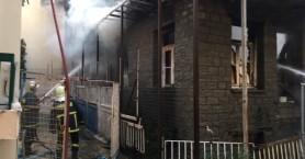 Πυρκαγιά κατέστρεψε ολοσχερώς πέτρινη οικία