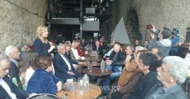 Φ. Γεννηματά: Αισιοδοξία από την Κρήτη για συσπείρωση του κέντρου