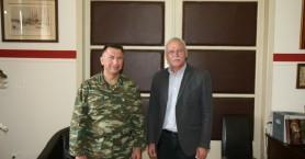Ο Διοικητής της 5ης Ταξιαρχίας στην Αντιπεριφέρεια Χανίων