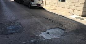 Επικίνδυνη λακκούβα στο κέντρο των Χανίων
