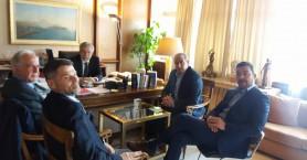 Στον Υπουργό για το νέο Δικαστικό Μέγαρο ο Δήμαρχος Ηρακλείου