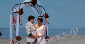 Δύο ερωτευμένες κοπέλες παντρεύτηκαν στο Μάλεμε στα Χανιά