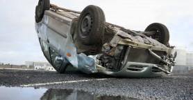 Τροχαίο ατύχημα στην Ε.Ο. Ηρακλείου - Μοιρών