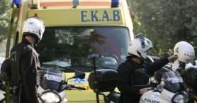 Τροχαίο με τραυματισμό δικυκλιστή μετά απο σύγκρουση με ταξί