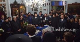 Στη Χαλέπα για λαϊκό προσκύνημα η σορός του Κωνσταντίνου Μητσοτάκη (φωτό)