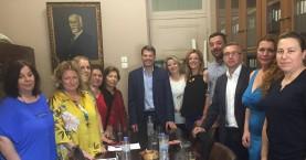 Συνάντηση της Επιτροπής Ισότητας δ. Ηρακλείου με τον Δικηγορικό Σύλλογο