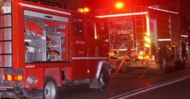 Πυρκαγιά την νύχτα σε αυτοκίνητο στο Ηράκλειο