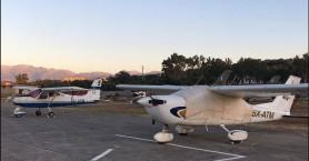 Η αερολέσχη Χανίων «προσγειώθηκε» στο αεροδρόμιο του Μάλεμε (φωτο-βίντεο)