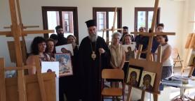 Λήξη Μαθημάτων Σχολής Αγιογραφίας Ι.Μ.Κισάμου & Σελίνου