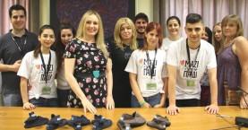 Δωρεάν διανομή παπουτσιών για παιδιά στα Χανιά