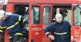 Συναγερμός από φωτιά σε κτίριο στον Αποκόρωνα
