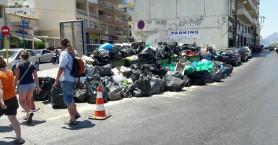 Στους δρόμους αλλά μόνο με τους μόνιμους τα απορριμματοφόρα στο Ηράκλειο