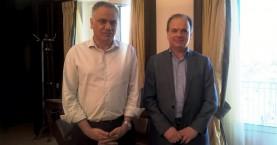 Συνάντηση του Υπουργού Εσωτερικών με τον  Δήμαρχο Ρεθύμνης