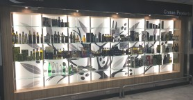 Ο ΣΕΚ αναβαθμίζει το εκθετήριο Κρητικών προϊόντων στo αεροδρόμιο Ηρακλείου