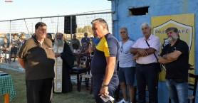 Παλαιόχωρα: Αγιασμός και έναρξη προετοιμασίας