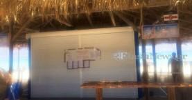 Σφραγίστηκαν ξανά καντίνες και ομπρέλες στη νήσο Χρυσή