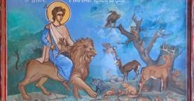Εορτασμός Αγίου Μάμα, στο Πάρκο Μόρφου στα Λενταριανά