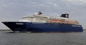 Το κρουαζιερόπλοιο Horizon στο λιμάνι της Σούδας