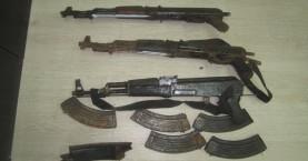 Εφερναν βαρύ οπλισμό από την Αλβανία