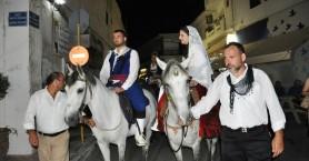 Με επιτυχία η αναπαράσταση Κρητικού γάμου στην Κίσσαμο