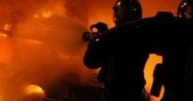 Ηράκλειο: Αυτοκίνητο πήρε φωτιά