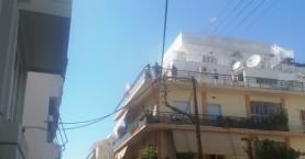 Πυρκαγιά σε διαμέρισμα στο κέντρο των Χανίων (φωτο)