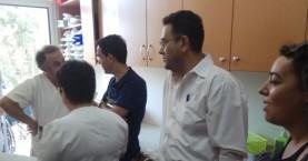 Περιοδεία του Μ. Συντυχάκη,στο Βενιζέλειο νοσοκομείο