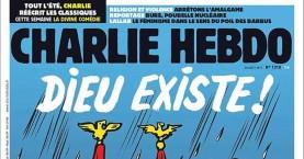 Charlie Hebdo:«Ο Θεός υπάρχει. Έπνιξε όλους τους νεοναζί του Τέξας»