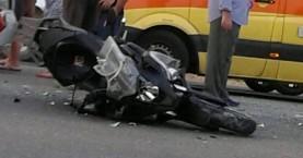 Τροχαίο με τραυματισμό πατέρα και κόρης στην Κίσσαμο