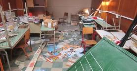 Εικόνες σοκ στο Αγρίνιο: Βάνδαλοι κατέστρεψαν σχολείο που φοιτούν Ρομά