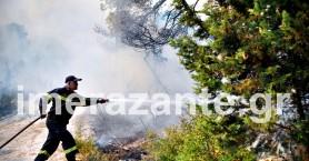 Πύρινη κόλαση στη Ζάκυνθο: Κάηκε σπίτι - Συγκλονιστικές εικόνες (βίντεο)