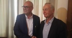 Με τον Αντιπρόεδρο των ΑΝΕΛ συναντήθηκε ο Τάσος Βάμβουκας (βίντεο)