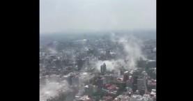 Τα πρώτα βίντεο από τον ισχυρό σεισμό στο Μεξικό