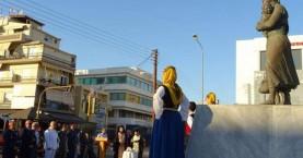 Συγκίνηση στην εκδήλωση στο μνημείο Μικρασιατών στα Χανιά