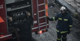Μικρής έκτασης φωτιάς σε ακατοίκητο σπίτι στη Ν.Χώρα