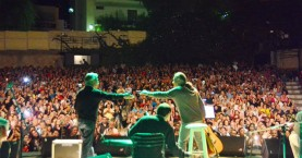«Ταξίδεψαν» το κοινό οι Θαλασσινός & Σκουλάς στην Ανατ. Τάφρο Χανίων (φωτο)