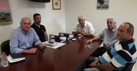 Επίσκεψη του Αντιπροέδρου του ΕΚΑΒ στον Δήμο Βιάννου