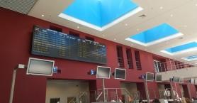 Αδύνατη η προσγείωση στο Αεροδρόμιο Χανίων λόγω ισχυρών ανέμων