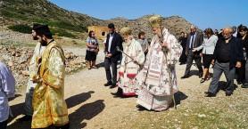 Δισαρχιερατική Θεία Λειτουργία για τον Άγιο Ιωάννη τον Ερημίτη στα Χανιά